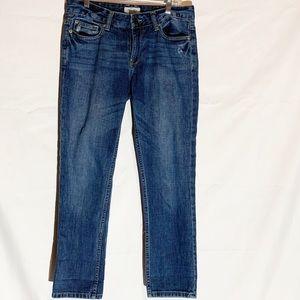 Aeropostale boyfriend blue jeans